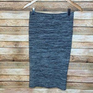 Zara| Pencil Skirt| Grey| M